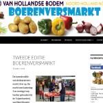Website Boerenversmarkt en social media bijhouden