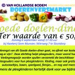 Promotiemateriaal tweede editie Boerenversmarkt